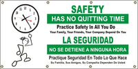 Safety Has No Quitting Time (English and Spanish) - SBS548