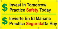 Invest In Tomorrow, Practice Safety Today (English and Spanish) - SBS553