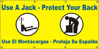 Use A Jack – Protect Your Back (English and Spanish) - SBS555