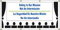 Safety Is Our Mission – Not An Intermission (English and Spanish) - SBS557