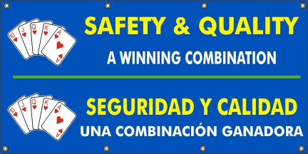 Safety & Quality A Winning Combination (English and Spanish) - SBS558