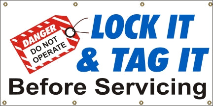 Lock It & Tag It - Before Servicing - SBS017