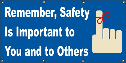 Remember, Safety Is Important To You  And To Others - SBS022