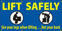 Lift Safely, Use Your Legs When Lifting…Not Your Back - SBS029