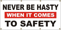 Never Be Hasty When It Comes To Safety - SBS040