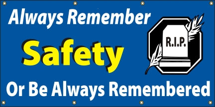 Always Remember Safety, Or Be Always Be Remembered - SBS045