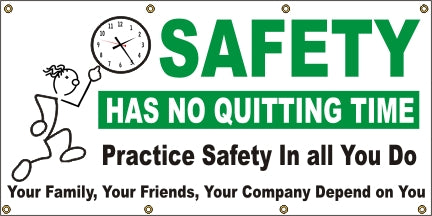 Safety Has No Quitting Time - SBS049