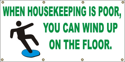 When Housekeeping Is Poor, You Can Wind Up On The Floor - SBS053