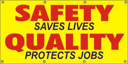 Safety Saves Lives, Quality Protects Jobs - SBS054