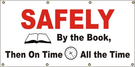 Safely By The Book, Then On Time, All The Time - SBS058