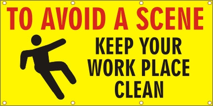 To Avoid A Scene, Keep Your Workplace Clean - SBS074