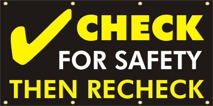 Check For Safety, Then Recheck - SBS081
