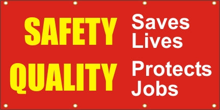 Safety Saves Lives, Quality Protects Jobs - SBS086