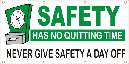Safety Has No Quitting Time - Never Give Safety A Day Off - SBS088