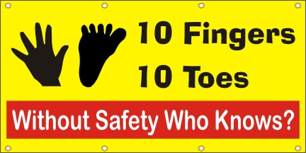 10 Fingers, 10 Toes, Without Safety Who Knows? - SBS116