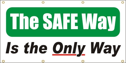 The Safe Way - Is The Only Way - SBS121