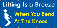 Lifting Is A Breeze, When You Bend At The Knees - SBS123