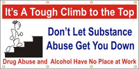 It's A Tough Climb To The Top - Don't Let Substance Abuse Get You Down - SBS128
