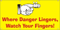 Where Danger Lingers, Watch Your Fingers - SBS141