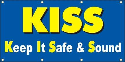 Kiss – Keep It Safe & Sound - SBS155