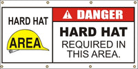 Danger – Hard Hat Required In This Area - SBS406