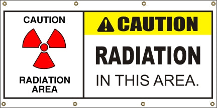Caution – Radiation In This Area - SBS416