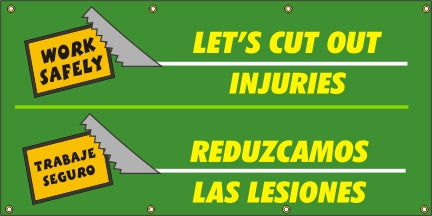 Let's Cut Out Injuries (English and Spanish) - SBS505