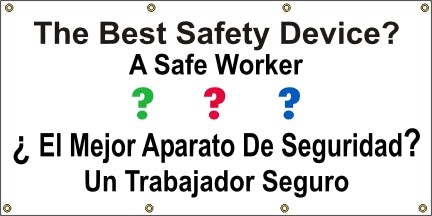 The Best Safety Device, A Safe Worker (English and Spanish) - SBS507