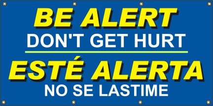 Be Alert, Don't Get Hurt (English and Spanish) - SBS508