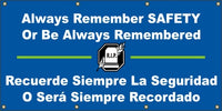 Always Remember, Or Be Always Remembered (English and Spanish) - SBS511