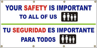 Your Safety Is Important To All Of Us (English and Spanish) - SBS517