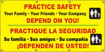Practice Safety – Your Family, Friends, and Company Depend On You (English and Spanish) - SBS524