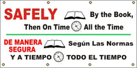 Safely By The Book, Then On Time, All The Time (English and Spanish) - SBS528