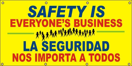 Safety Is Everyone's Business (English and Spanish) - SBS540