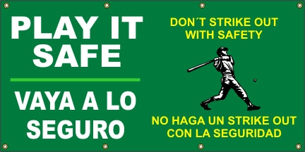 Play It Safe – Don't Strike Out With Safety (English and Spanish) - SBS542