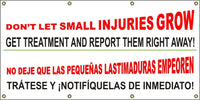 Don't Let Small Injuries Grow (English and Spanish) - SBS563