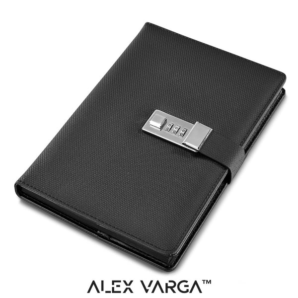 ALEX VARGA Chapman Code-Lock Notebook - DEFIANT Fashion™