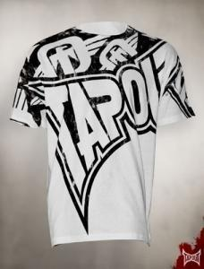 TAPOUT All Or Nothing Cotton T-Shirt - White : XXL [BACK ORDER]