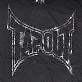 TAPOUT High Definition Cotton T-Shirt - Black : XL [BACK ORDER] - DEFIANT Fashion™