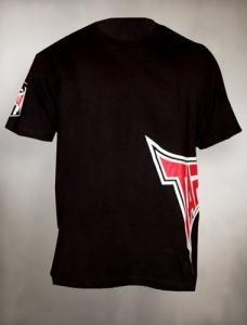 TAPOUT Sideswipe Cotton T-Shirt - Black [BACK ORDER]