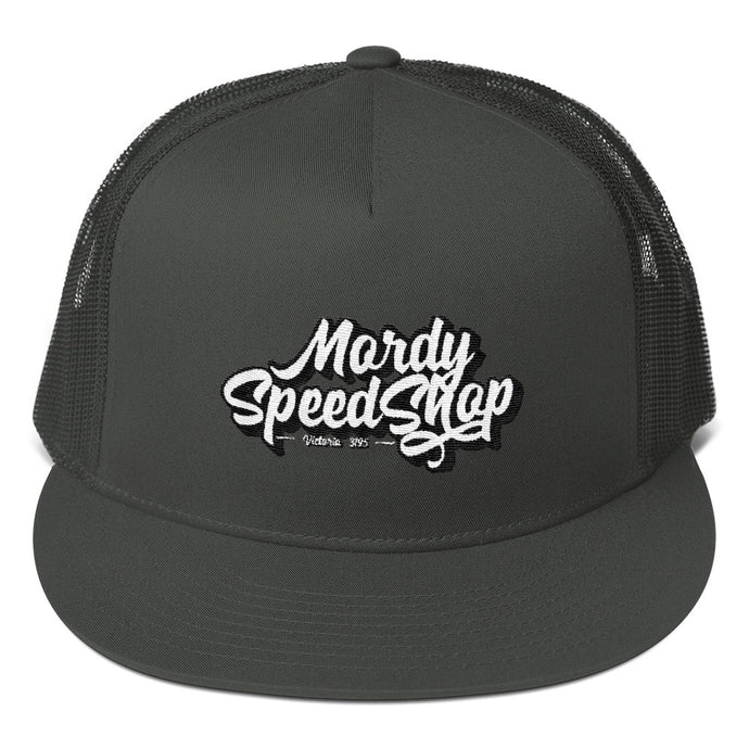 Mordy Speed Shop Mesh Back Snapback Cap