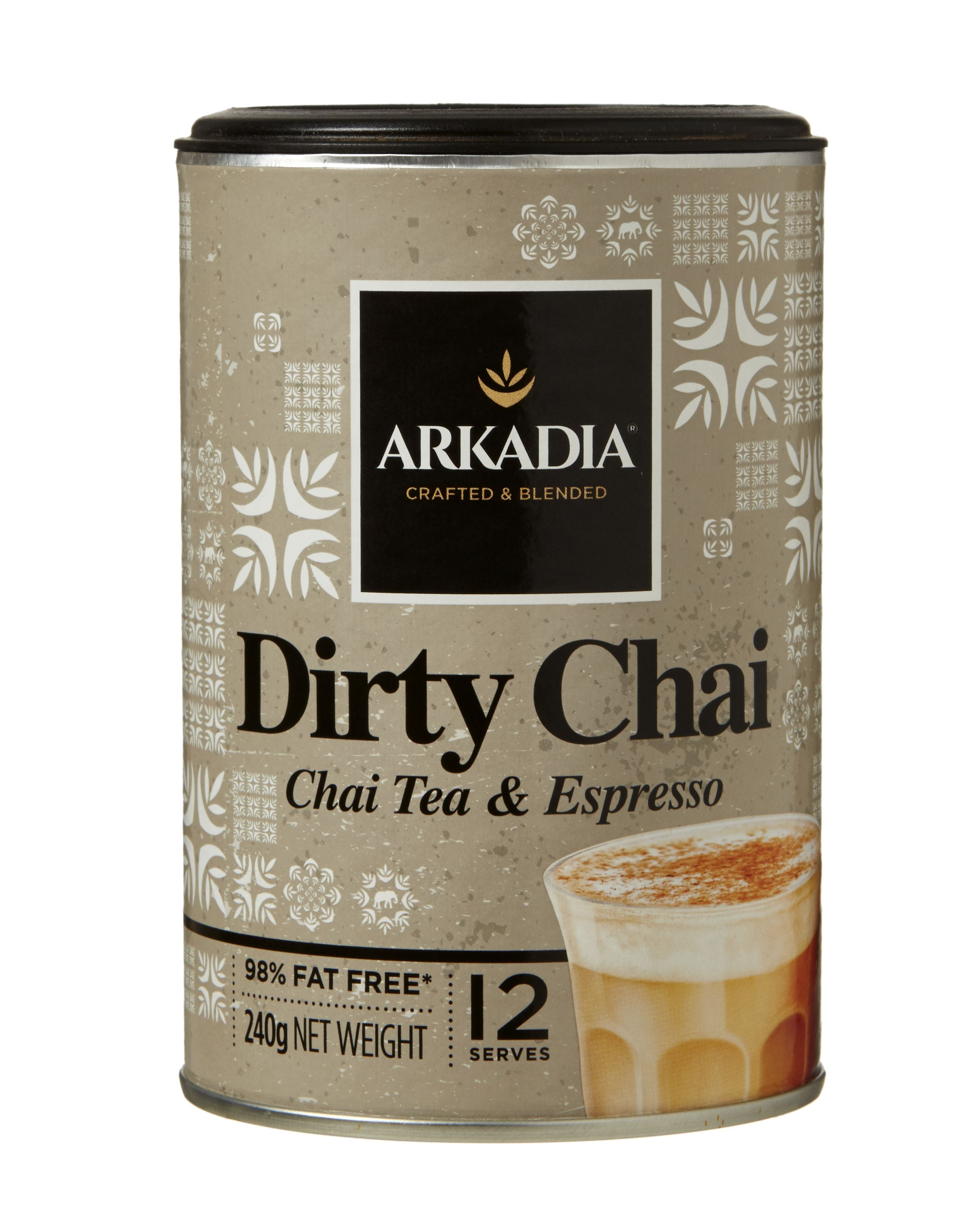 """Dirty"" Chai Latte Espresso"