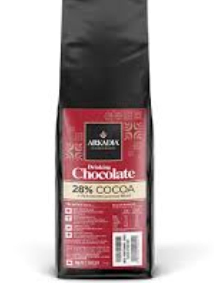 Warme Chocolademelk 28% Cacao (Hot Chocolate) Mix 1kg