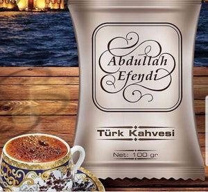 Ground Turkish Coffee - Abdullah Efendi - 100gr packs