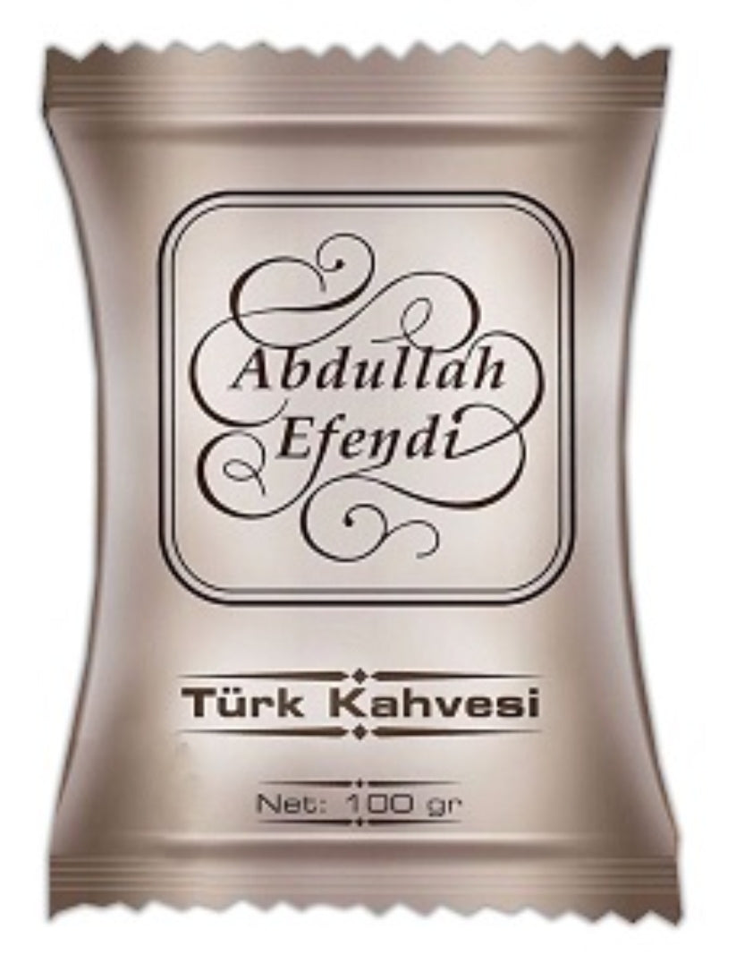 Ground Turkish Coffee - Abdullah Efendi - 100gr pack