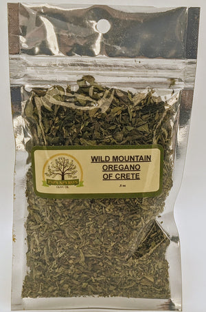 Wild Mountain Oregano of Crete
