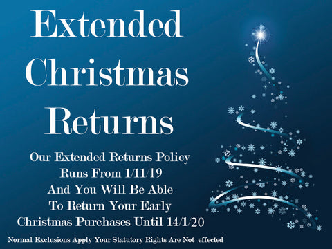 extended christmas returns