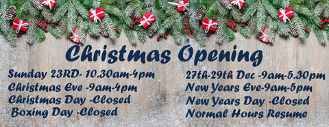 christmas store opening