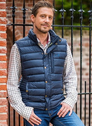 Baleno Aston Mens Quilted Waistcoat