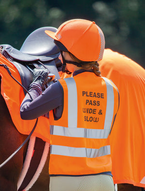 Bridleway Visibility Safety Vest